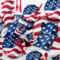 Creative Converting™ Patriotic Flag 81-Piece Party Supplies Kit