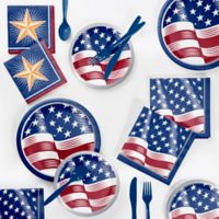 Creative Converting™ Shining Flag Fourth of July 72-Piece Party Supplies Kit