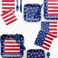 Creative Converting™ Festive Flag Fourth of July 72-Piece Party Supplies Kit