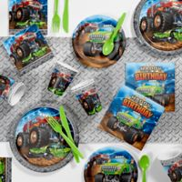Creative Converting™ 81-Piece Monster Truck Birthday Party Supplies Kit