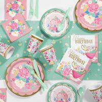 Creative Converting™ 81-Piece Floral Tea Party Birthday Party Supplies Kit