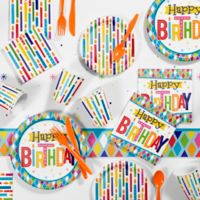 Creative Converting™ Bright 81-Piece Birthday Party Supplies Kit