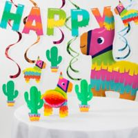Creative Converting™ 8-Piece Fiesta Fun Birthday Decorations Kit