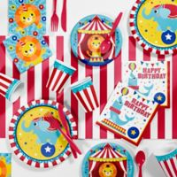 Creative Converting™ 81-Piece Circus Animal Birthday Party Supplies Kit