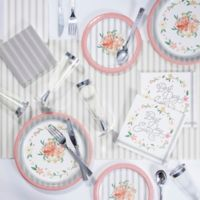 Creative Converting™ 243-Piece Country Floral Party Supplies Kit