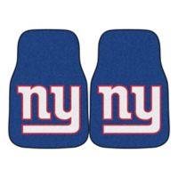 a8e5ce6c6 NFL New York Giants Carpeted Car Mats (Set of 2)
