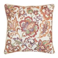 Croscill® Delilah 18-Inch Square Throw Pillow in Spice