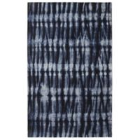 Rugsmith Resist 3' x 5' Tufted Area Rug in Navy