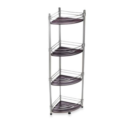 buy bath corner shelves from bed bath beyond rh bedbathandbeyond com bathroom corner shelving bathroom corner shelving ideas