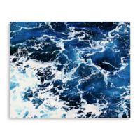 Kavka Designs 16-Inch x 20-Inch Beach Wave Five Canvas Wall Art