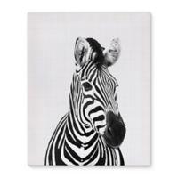 Kavka Designs 16-Inch x 20-Inch Zebra Canvas Wall Art