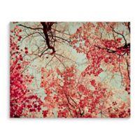 Autumn Ink Blot 8-Inch x 10-Inch Canvas Wall Art