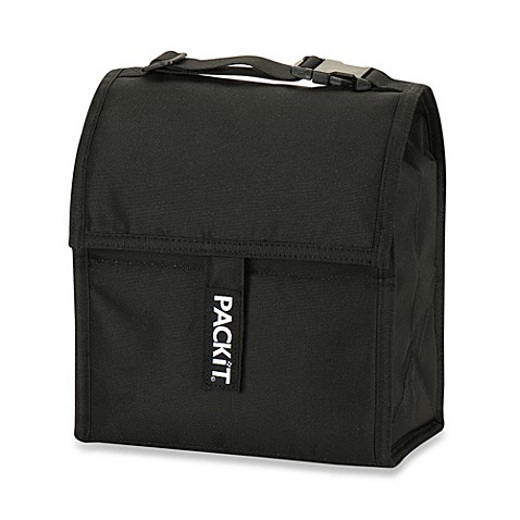 PackIt® 8-Inch Lunch Bag in Black