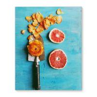 Grapefruit Garden 16-Inch x 20-Inch Canvas Wall Art