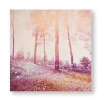 Graham & Brown Meadow Daydream 24-Inch Square Wrapped Canvas Wall Art
