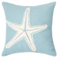 C&F Home™ Starfish Square Throw Pillow in Blue