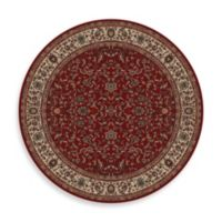 Concord Global Trading Jewel Kashan 7-Foot 10-Inch Round Rug in Red