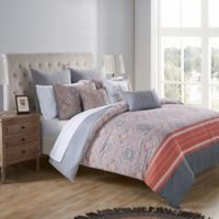 VCNY Home Thalia Reversible King Bedding Set in Coral