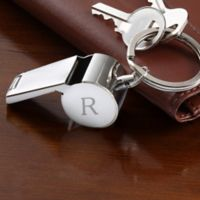 Classic Celebrations Personalized Whistle Keychain