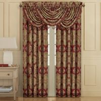 J. Queen New York™ Maribella 84-Inch Rod Pocket Window Curtain Panel Pair in Crimson