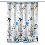 Avanti Antigua 72-Inch x 72-Inch Fabric Shower Curtain