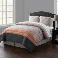 VCNY Home Thalia Reversible Queen Comforter Set in Coral