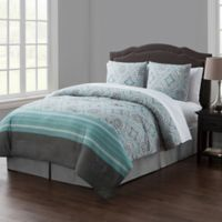 VCNY Home Thalia Reversible Queen Comforter Set in Light Blue