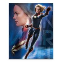 Marvel® Captain Marvel Space Reflection 18-Inch x 24-Inch Canvas Wall Art