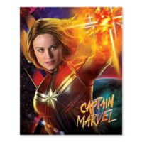 Marvel® Captain Marvel Universe Burst 16-Inch x 20-Inch Canvas Wall Art