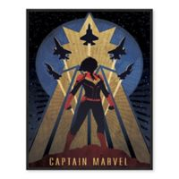 Marvel® Captain Marvel Vintage 22-Inch x 28-Inch Canvas Wall Art