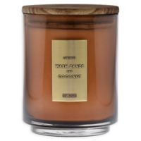 DW Home Warm Sands and Coconut 29 oz. Jar Candle with Wood Lid