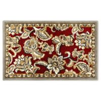 Home Dynamix Maplewood 1'7 x 2'7 Accent Rug in Red