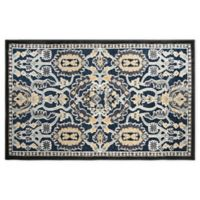 Home Dynamix Maplewood 3'1 x 4'7 Accent Rug in Navy
