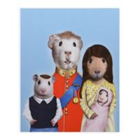 Pets Rock Royal Guinea Pigs 20-Inch x 16-Inch Canvas Wall Art
