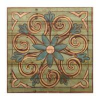 Ornamental Tile III 24-Inch Square Wood Wall