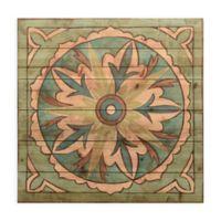 Ornamental Tile II 24-Inch Square Wood Wall