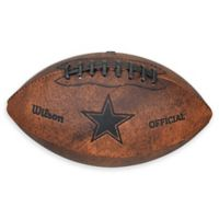 NFL Dallas Cowboys Vintage Throwback Football