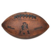 NFL New England Patriots Vintage Throwback Football