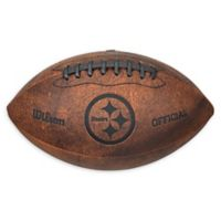 NFL Pittsburgh Steelers Vintage Throwback Football