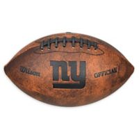 NFL New York Giants Vintage Throwback Football