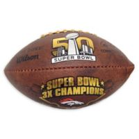 NFL Denver Broncos Championship Throwback Football