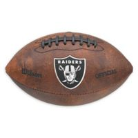 NFL Oakland Raiders Colored Throwback Football