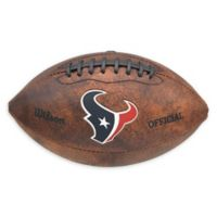 NFL Houston Texans Colored Throwback Football