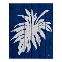 Catia Keck Palm Leaf 3 16-Inch x 20-Inch Canvas Wall Art