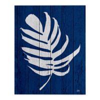 Catia Keck Palm Leaf 4 16-Inch x 20-Inch Canvas Wall Art