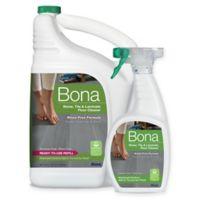Bona® 160 oz. Stone, Tile, and Laminate Floor Cleaner Refill with 22 oz. Bonus Spray Bottle