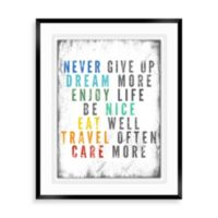 Colorful Quote B Wall Décor