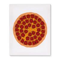 Pepperoni 8-Inch x 10-Inch Canvas Wall Art