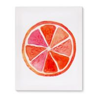 Orange 24-Inch x 36-Inch Canvas Wall Art