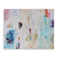 Kavka Designs 8-Inch x 10-Inch Abstract Jungle Gym Canvas Wall Art
